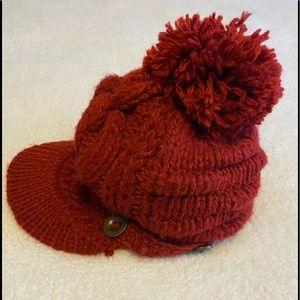 💥red winter hat